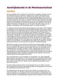 Aardrijkskunde in de Montessorischool - kelpin.nl