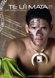 Magazine Te U'i Mata n° 26 - Université de la Polynésie Française