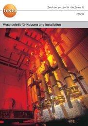 Messtechnik für Heizung und Installation - Testo AG