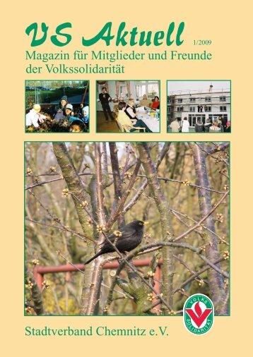 Stadtverband Chemnitz e.V. Magazin für Mitglieder und Freunde der ...