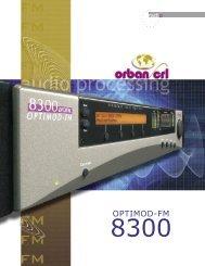 8300 Brochure.indd - Orban