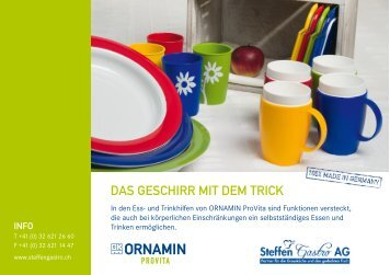 Katalog Ornamin ProVita - Steffen Gastro AG