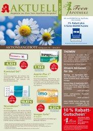 Unsere Aktionen Für Sie - Feen Apotheke Bergedorf
