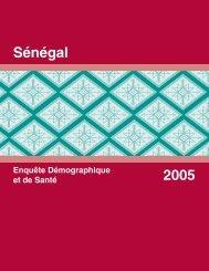 Enquête Démographique et de Santé Sénégal 2005 ... - Measure DHS