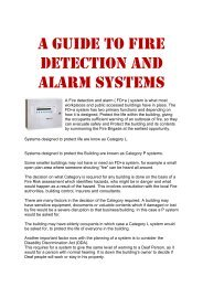 a guide to fire detection and alarm systems 1