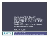 Heather Smith - National Committee on Vital and Health Statistics