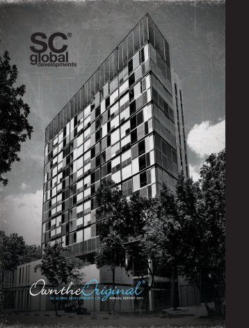 Financial Results 2011 - SC Global Developments