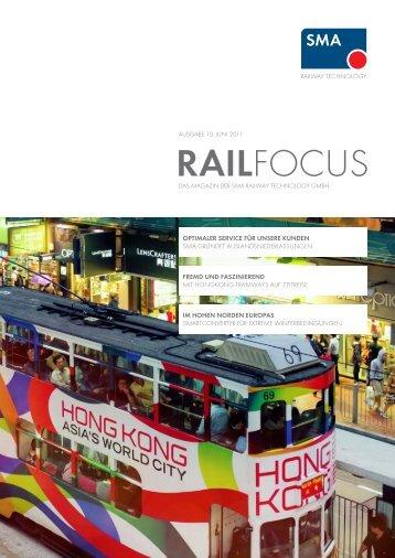 RAILFOCUS - SMA Railway