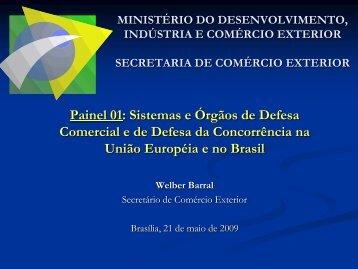 Welber Barral - Secretário de Comércio Exterior - Conselho ...