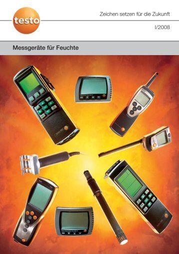 Messgeräte für Feuchte - Testo AG