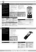 Messgeräte für Feuchte - Testo AG - Seite 6