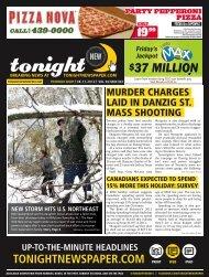 37 million - tonight Newspaper