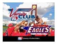 Varsity Club Slide Show
