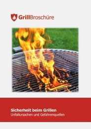 Tipps zum sicheren Grillen - bei der Feuerwehr Erlangen
