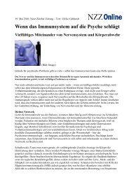 Artikel in der NZZ vom 19. Mai 2010 zum Herunterladen!