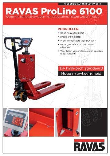RAVAS ProLine 6100 Technical specification leaflet