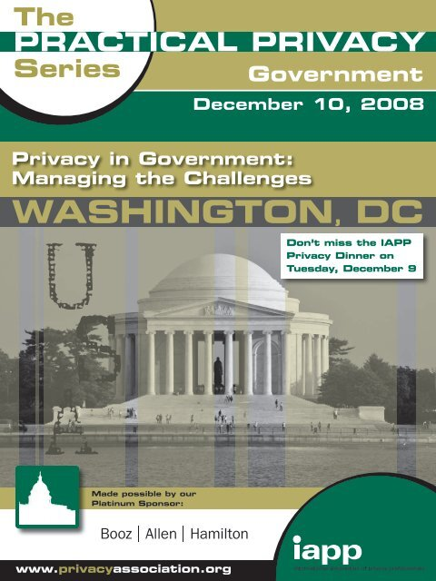 View Brochure - International Association of Privacy Professionals