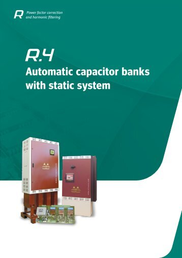 R.4 - Automatic capacitor banks with static system - Circutor