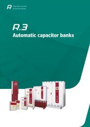 Automatic capacitor banks - Circutor