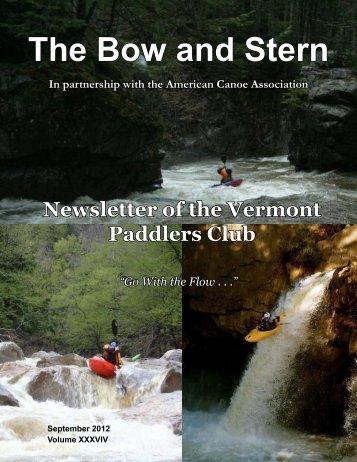 Sep - Vermont Paddlers Club
