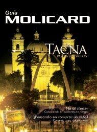 Guía Molicard 20 Octubre 2008 - Municipalidad de La Molina
