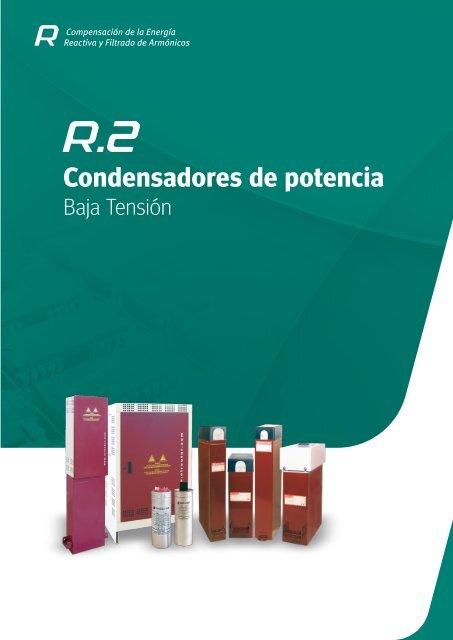 Condensadores de potencia, BT - Circutor