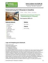 Ferienwohnung für 5 Personen in Cavallino - Outdoor-Touristik