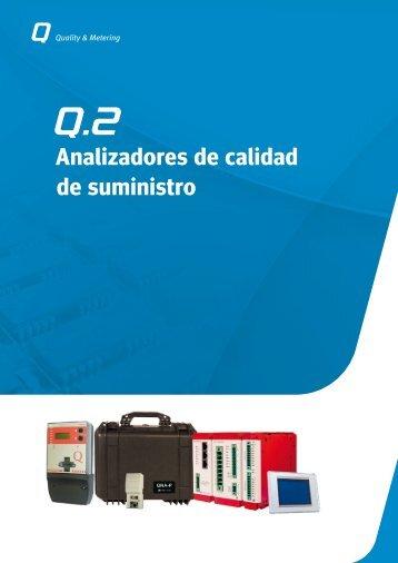 Analizadores de calidad de suministro - Circutor