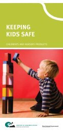 Keeping kids safe [993KB - Ministry of Consumer Affairs