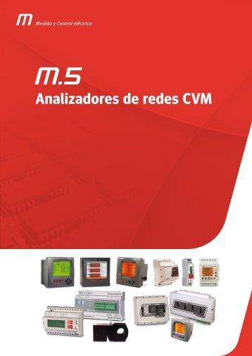 Analizadores de redes CVM - Circutor