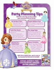 Sofia the First Activites - A to Z Kids Stuff