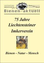 Bienen-aktuell Nr. 27 - Liechtensteiner Imkerverein