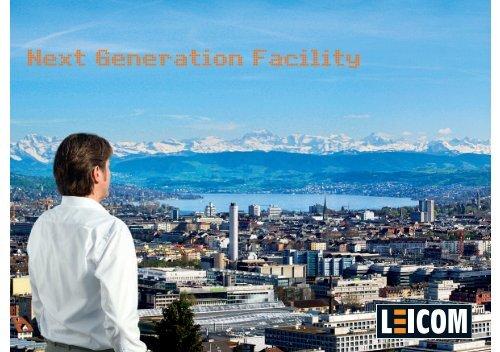 Image-Broschuere - Leicom AG