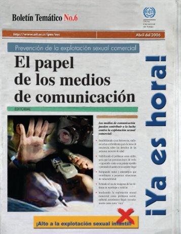 Boletín temático Nº 6 - OIT en América Latina y el Caribe