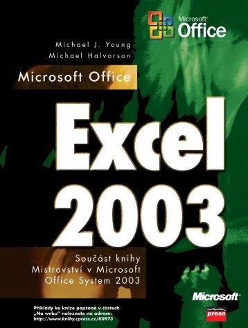Součást knihy Mistrovství v Microsoft Office System 2003