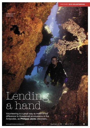 Eco-volunteering in Australia and New Zealand - Reef Check Australia