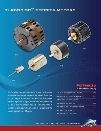 TurboDisc™ sTepper MoTors