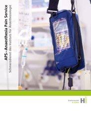 APS – Anaesthesia Pain Service - Institut für Anästhesiologie ...
