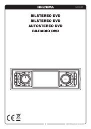 Bilstereo DVD Bilstereo DVD Autostereo DVD BilrADio DVD - Biltema