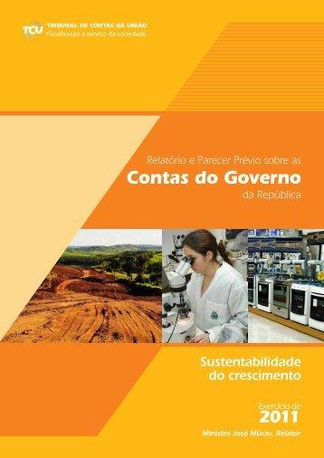 Sustentabilidade do Crescimento - Tribunal de Contas da União