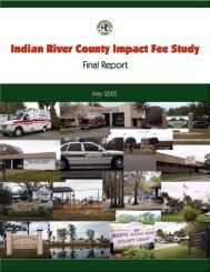 Indian River County Impact Fee Study Final Report - irccdd.com