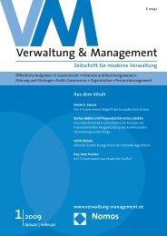 Das ganze Heft als PDF-Datei - Verwaltung & Management - Nomos
