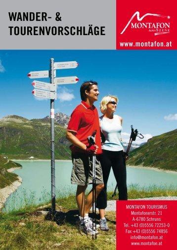 "WANDER- & TOURENVORSCHLÃ""GE - Outdoor-Touristik"