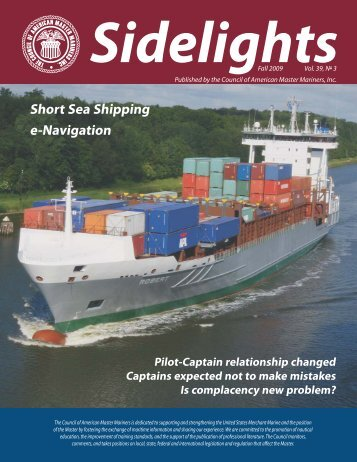 Fall 2009 Issue - Council of American Master Mariners