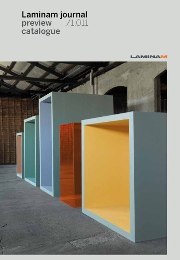 Laminam journal preview /1.011 catalogue - Adg-gmbh.de