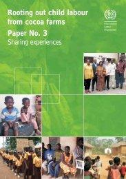 Paper No.3: Sharing experiences - International Labour Organization
