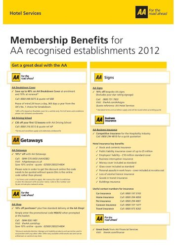 Aa Membership Benefits >> Www Theaa Com Magazines