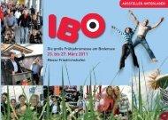 IBO | Aussteller-Unterlagen 2011