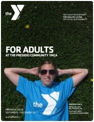 FOR ADULTS - YMCA of San Francisco