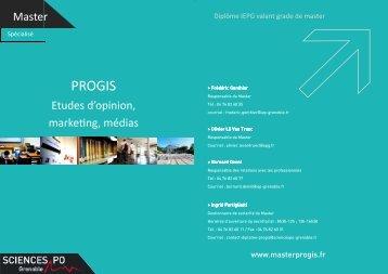 PROGIS - Sciences Po Grenoble